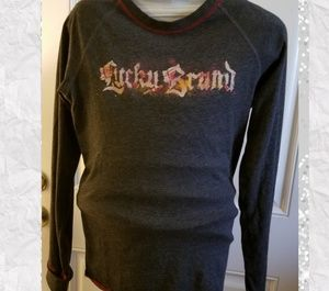 Other - Lucky Brand tee long sleeves. Size Medium